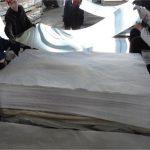 10*1220 * 2600 standard size brushed finish aluminum sheet 6061 t6