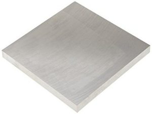 Solar reflecterende aluminiumplaat