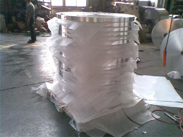 ASTM B209 Κλίμακα 3003 Temper H18 Κλίμακες αλουμινίου H16 αλουμινίου