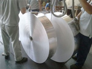 China Embossed Coated Aluminum Coil Foil Sheet Plates Strips 5052