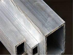 Precio de venta al por mayor rectangular hueco de la fábrica del tubo de aluminio