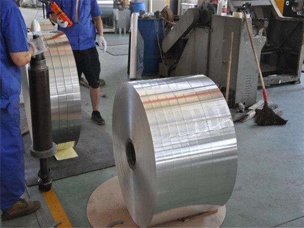 Round Edge 1060 1070 Aluminium Strap Tape Strip