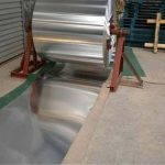 bobina in alluminio verniciato a polvere per rivestimento di edifici