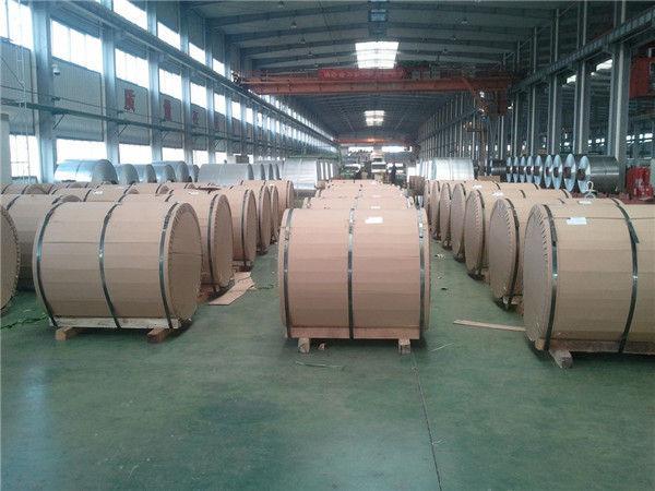 China Good Quality Pvc Laminated Film Coated Aluminum Sheet/coil