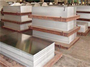 factory export supply aluminum 1199 5083 aluminum sheet price per ton