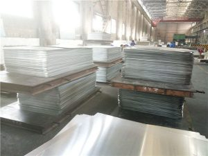 Mirror Finish Alloy Metal Anodized Aluminium Plate / Aluminum Sheet