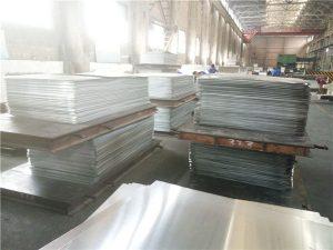 mirror finish alloy metal anodized aluminium plate / aluminum sheet